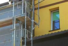 rusztowania na budynki mieszkalne