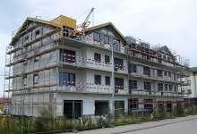 rusztowanie budynek