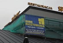 restauracja sphinx rusztowanie