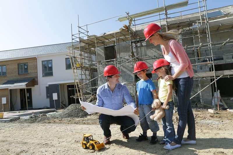 rusztowanie-budowa domu
