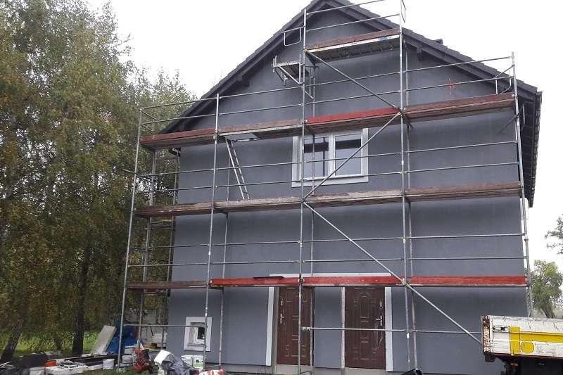 dom rusztowania